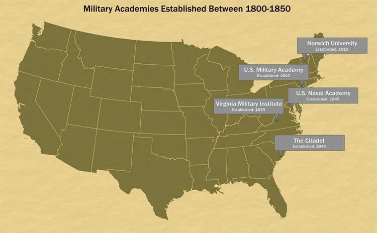oldest military academies