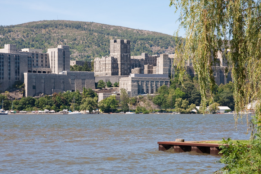 West Point Military Academy from across the Hudson River. (Photo BigStockPhoto.com)